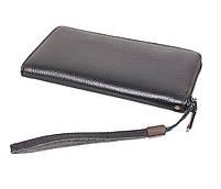 Мужской кожаный клатч BLACK8332 Черный, фото 2