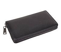 Мужской кожаный клатч BLACK8332 Черный, фото 4
