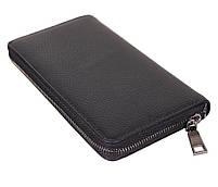 Мужской кожаный клатч BLACK8332 Черный, фото 5