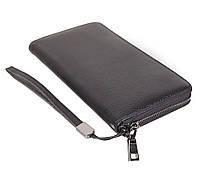 Мужской кожаный клатч BLACK8332 Черный, фото 6