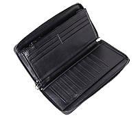 Мужской кожаный клатч BLACK8332 Черный, фото 8