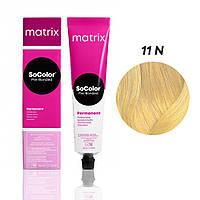 Матрікс Соколор Пре-Бондед, стійка крем-фарба для волосся, відтінок 11N, 90 мл