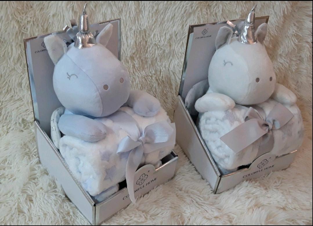 Дитячий плед іграшка Єдиноріг