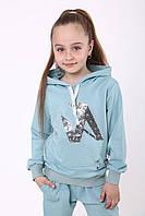 Спортивный костюм на флисе для девочки р. 116-134 от 6 до 9 лет