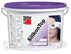 Штукатурка силиконовая декоративная Baumit SilikonTop барашек 1.5 мм. ведро 25 кг