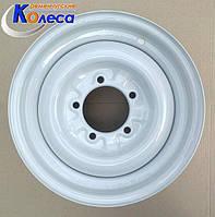 Колесные диски УАЗ R15 W6 PCD5x139.7 ET22  КрКЗ, фото 1