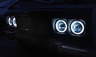 Ангельские глазки FIAT(Фиат) с гибкого неона.