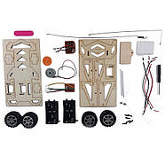 Электромеханический конструктор Радиоуправляемый гонщик 135743, фото 3