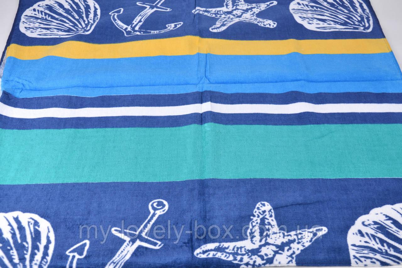 Полотенце пляжное МАХРА COTTON (Арт. TP2055)   3 шт.