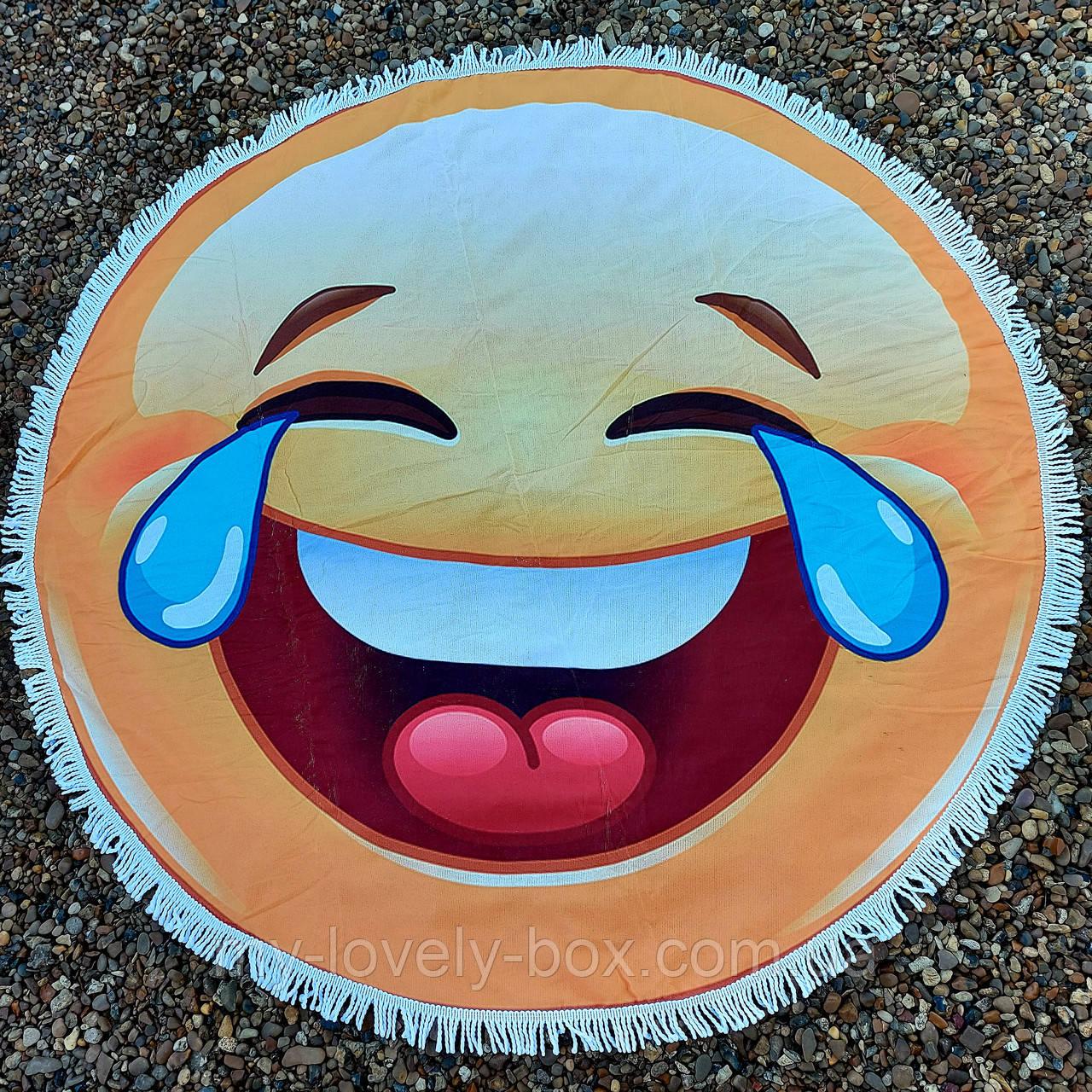 Рушник-пляжний килимок кругле (Арт. TPA113/12)