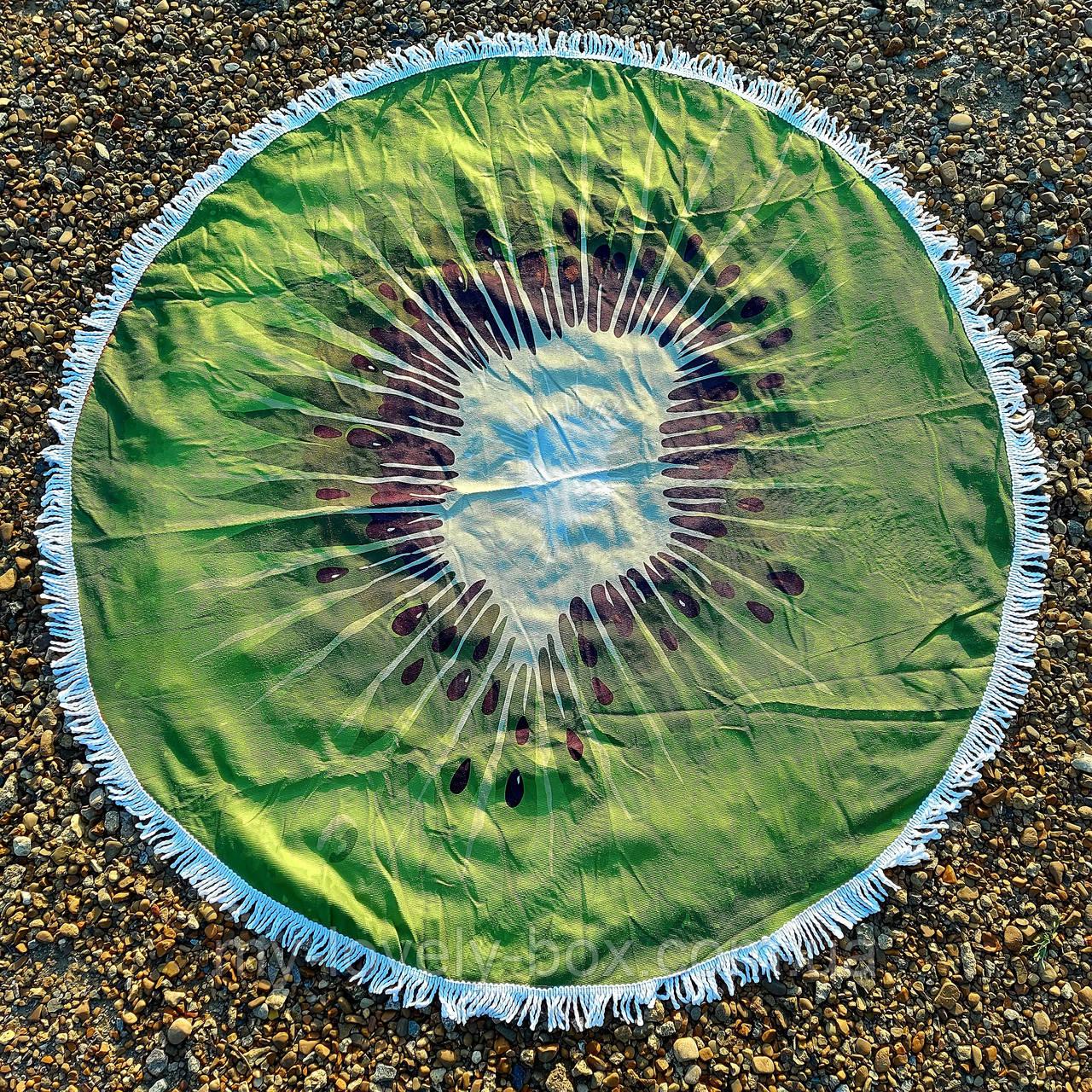 Полотенце-коврик пляжное круглое (Арт. TPA113/23)