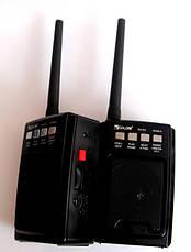 Комплект раций PTT с FM приемником, GOLON RX-D3  MP3 USB SD FM рация , фото 3
