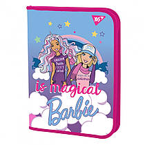 "Папка для зошитів YES пласт. на блискавці В5 ""Barbie"" 491550"
