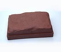 Плитка тротуарная ФЭМ «Камень средневековый» 130 х 13 х 55 мм