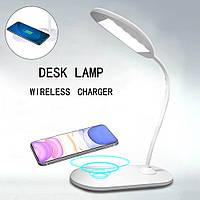 Настольная светодиодная сенсорная LED лампа для дома офиса учебы Настольный светильник