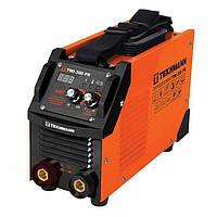 Зварювальний апарат інверторний 8.5 кВт, 20-300 А, IP21S, Tekhmann TWI-300 PR (847860)