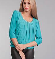 Женская Блуза бирюза, фото 1