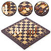Дерев'яний набір настільних ігор 3 в 1 L4008 шахи, шашки, нарди