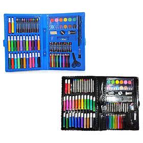 Набор для творчества Coloring Art Set 86 предметов (Black)   Набор для рисования в чемодане