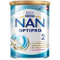Молочна суміш Nestle NAN 2 c 6 місяців, 400 г