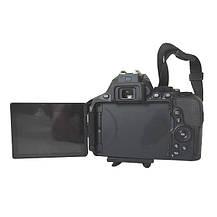 Фотоаппарат Nikon D5600 AF-P 18-55mm f/3.5-5.6G VR Black б/у, фото 2