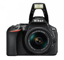 Фотоаппарат Nikon D5600 AF-P 18-55mm f/3.5-5.6G VR Black б/у, фото 3