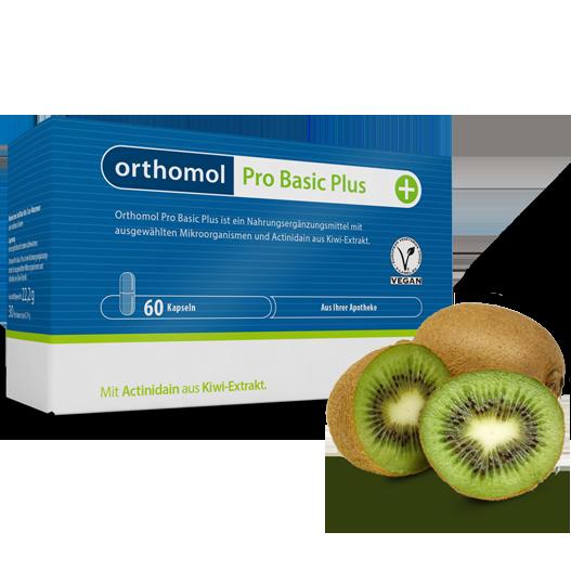 Вітаміни Ортомол Про Базик Плюс 30 капсул Orthomol Pro Basic Plus (7850679)