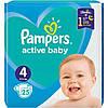 Одноразові підгузники Pampers Active Baby 4 (9-14 кг), 25 шт