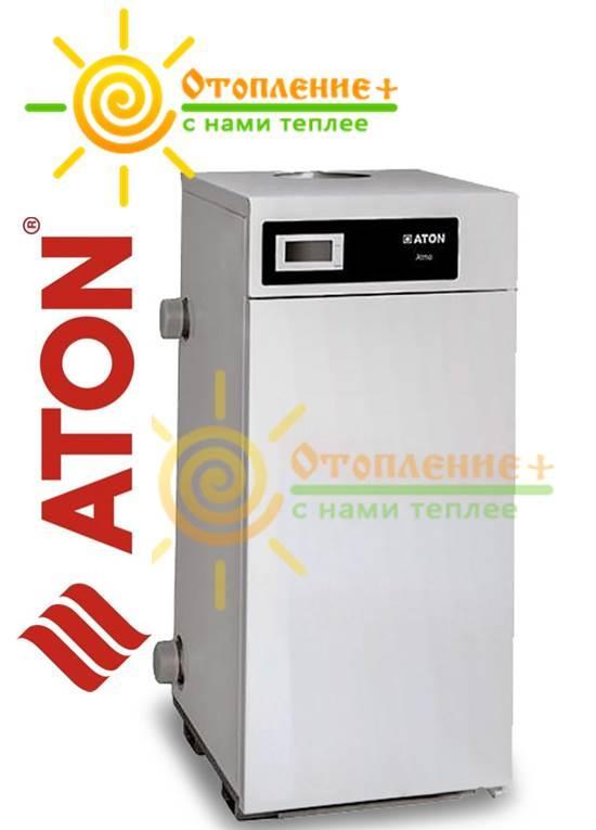 Газовый котел ATON Atmo 30ЕМ боковое подключение, одноконтурный