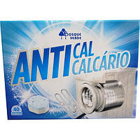 Таблетки против накипи Bosque Verde Anticalcario для стиральной машины, 40 шт