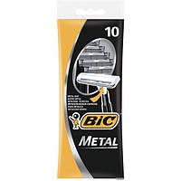 Набір одноразових станків для гоління BIC Metal 10 шт