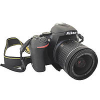 Фотоаппарат Nikon D5600 AF-P 18-55mm f/3.5-5.6G VR Black б/у