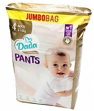 Подгузники-трусики DADA Extra Care Pants (4) maxi 8-15кг Jumbo Bag 66 шт