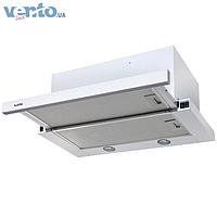 Ventolux Garda 50 WH (1000) EU встраиваемая, телескопическая кухонная вытяжка, белая эмаль