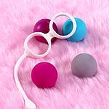 Вагінальні кульки змінні 4 шт, фото 4