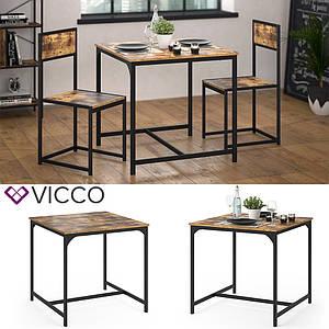 Кухонный столик в стиле лофт Vicco Fyrk