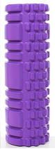 Массажный валик (ролик) для йоги / Фиолетовый/ 29х10 см. - MS 1836, фото 3