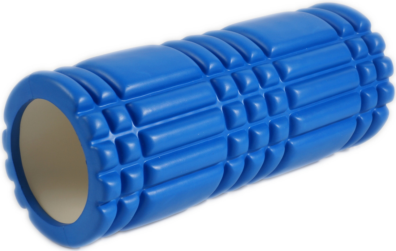 Массажный валик (MS 0857-3BL) Синий 33х14 см.