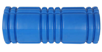 Массажный валик (MS 0857-3BL) Синий 33х14 см., фото 2