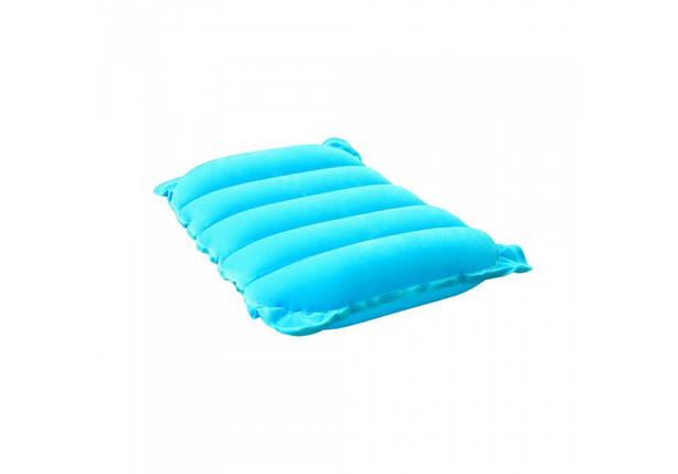 Надувна подушка Bestway Travel Pillow Blue 67485, фото 2