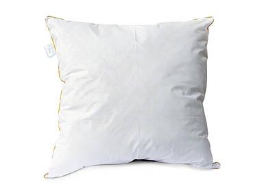 """Подушка """"Gold"""" с молнией и кантом - 70х70 (П7070G) Хлопок 100%"""