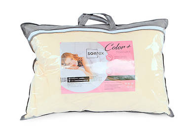 "Подушка для сна ""Color +"" - 50х70 холлофайбер (П5070CO) Бязь Голд, хлопок 100%"