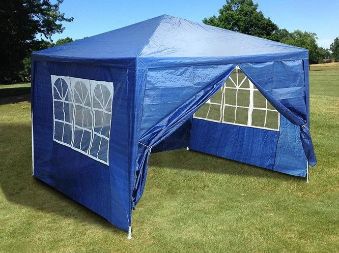 Садовая палатка 3м. х 3м. (Синяя)