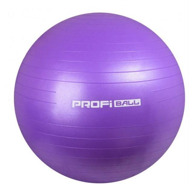 Фитбол Profi Ball 65 см.Фиолетовый (MS 0382F)