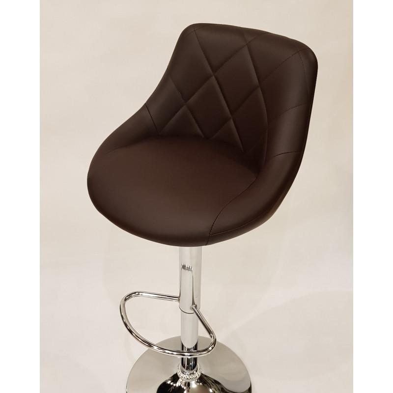 Барный стул, барное кресло Hoker Toledo (BST-1201) Коричневый