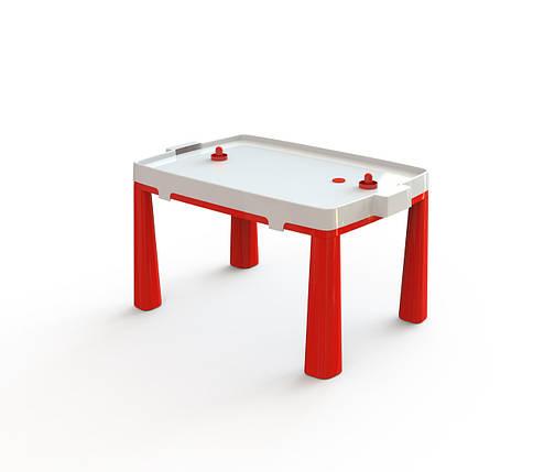 """Детский столик ТМ """"Долони"""" + аэрохоккей (04580/5) Красный, фото 2"""
