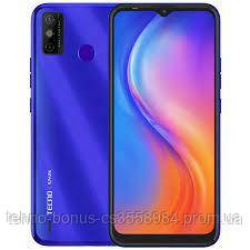Смартфон Tecno Spark 6 Go KE5 2/32GB Aqua Blue (4895180762383)