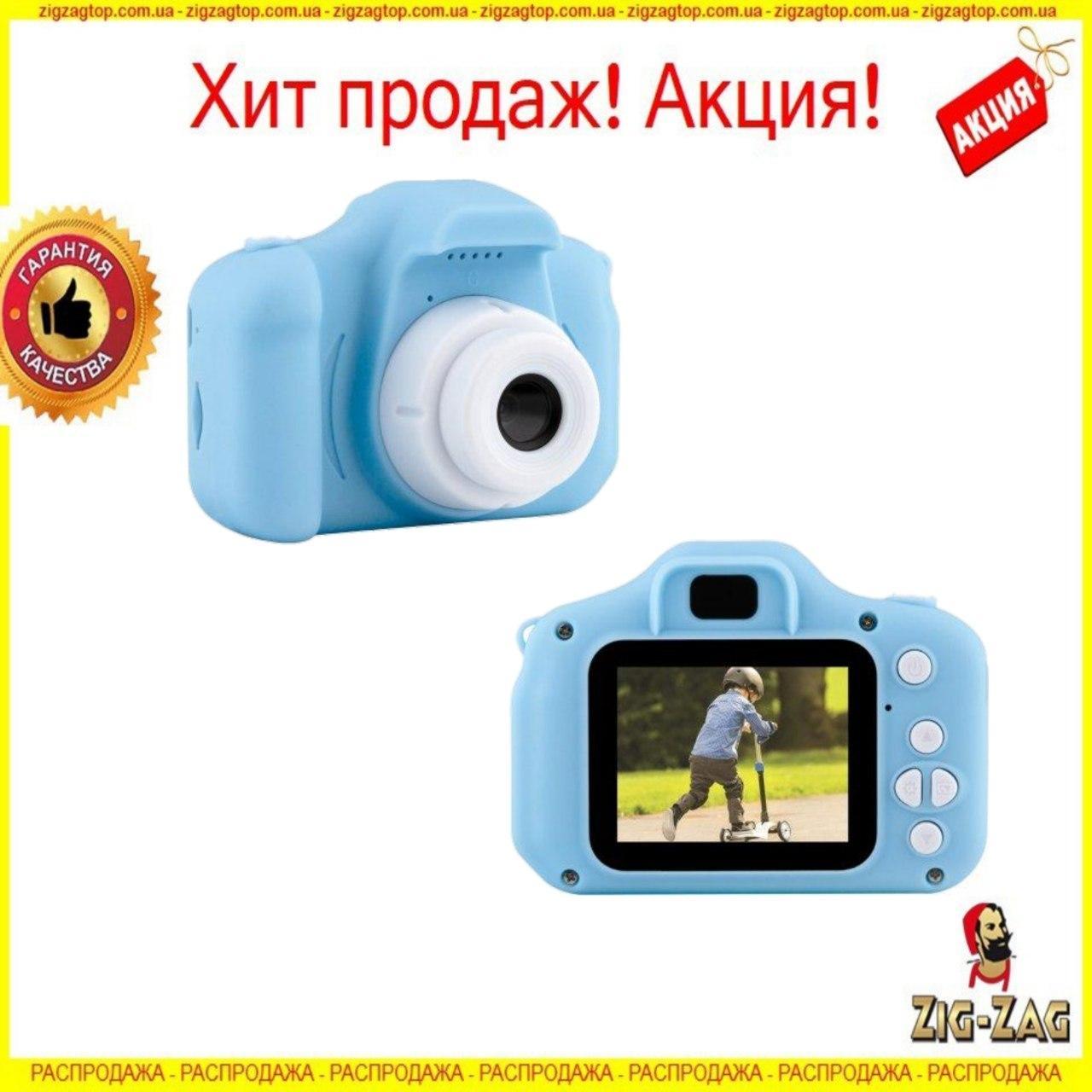 Детский Фотоаппарат GM14 Цифровой с Дисплеем Интерактивный с Играми для Детей с Записью Видео Camera-Kids
