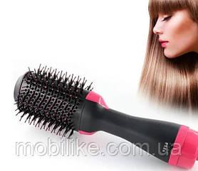 Фен Щітка щітка для укладання волосся, Стайлер для Волосся One Step Hair Dryer and Styler 3 в 1 (30)