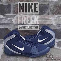 Борцовки, боксерки Nike Freek. Взуття для боротьби, боксу. Борцовки Найк, фото 1
